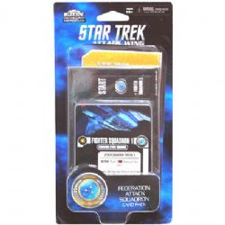 STAR TREK : ATTACK WING -  FEDERATION ATTACK SQUADRON - CARD PACK (ANGLAIS)
