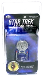 STAR TREK : ATTACK WING -  I.S.S. AVENGER (ANGLAIS) -  MIRROR UNIVERSE
