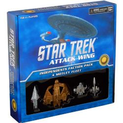 STAR TREK : ATTACK WING -  INDEPENDENTS FACTION PACK A MOTLEY FLEET (ANGLAIS)