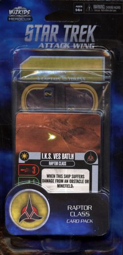 STAR TREK : ATTACK WING -  RAPTOR CLASS (ANGLAIS) -  KLINGON