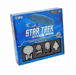 STAR TREK : ATTACK WING -  TO BOLDLY GO... (ANGLAIS)