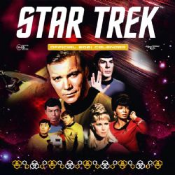 STAR TREK -  CALENDRIER OFFICIEL 2021