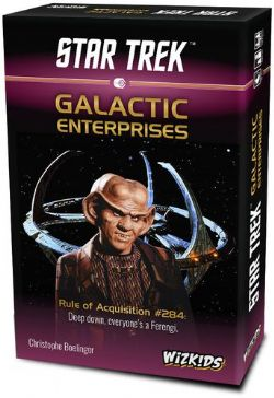 STAR TREK -  GALACTIC ENTERPRISES (ANGLAIS)