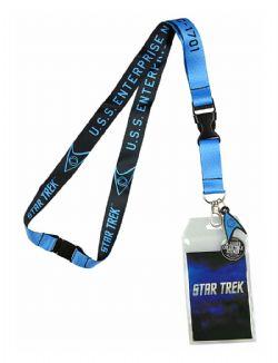 STAR TREK -  PORTE-CLÉ BLEU/NOIR