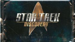 STAR TREK -  SEASON ONE TRADING CARDS (P5/B24) -  STAR TREK: DISCOVERY