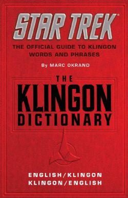 STAR TREK -  THE KLINGON DICTIONARY