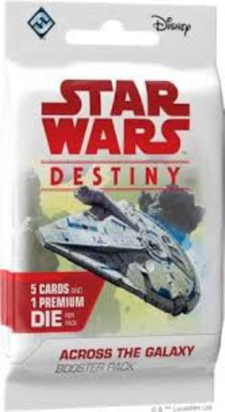 STAR WARS -  ACROSS THE GALAXY BOOSTER PACK (ANGLAIS) -  STAR WARS DESTINY