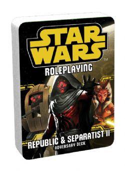 STAR WARS -  ADVERSARY DECK - REPUBLIC & SEPARATIST II -  STAR WARS JDR