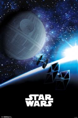 STAR WARS -  AFFICHE SUNRISE (56 CM X 86.5 CM)