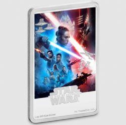 STAR WARS -  AFFICHES DE FILM STAR WARS™ : L'ASCENSION DE SKYWALKER™ -  PIÈCES DE LA NEW ZEALAND MINT (NOUVELLE-ZÉLANDE) 2020 09