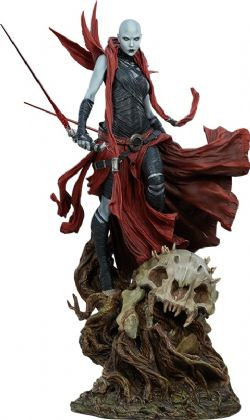STAR WARS -  ASAJJ VENTRESS MYTHOS STATUE (LIMITED EDITION /4500) -  SIDESHOW COLLECTIBLES