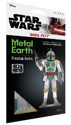 STAR WARS -  BOBAT FETT - 3 FEUILLES