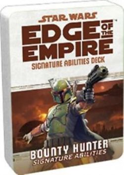STAR WARS -  BOUNTY HUNTER SIGNATURE ABILITIES (ENGLISH) -  EDGE OF THE EMPIRE