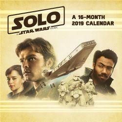 STAR WARS -  CALENDRIER MURALE 2019 (16 MOIS) -  SOLO