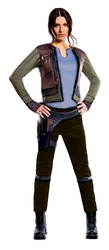 STAR WARS -  COSTUME DE JYN ERSO (ADULTE) -  STAR WARS : ROGUE ONE