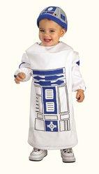 STAR WARS -  COSTUME DE R2-D2 (JEUNE ENFANT - TRÈS PETIT 1-2)