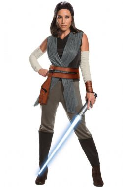 STAR WARS -  COSTUME DE REY (ADULTE) -  STAR WARS : LES DERNIERS JEDI