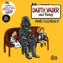 STAR WARS -  DARTH VADER AND FAMILY - FAMILY CALENDAR 2020 (17 MONTHS)
