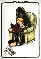 STAR WARS -  DARTH VADER AND SON JOURNAL