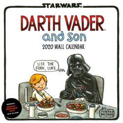 STAR WARS -  DARTH VADER AND SON - WALL CALENDAR 2020 (17 MONTHS)