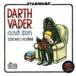 STAR WARS -  DARTH VADER AND SON - WALL CALENDAR 2021 (16 MONTHS)