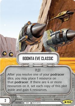 STAR WARS DESTINY -  BOONTA EVE CLASSIC -  WAY OF THE FORCE