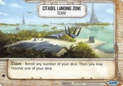 STAR WARS DESTINY -  CITADEL LANDING ZONE - SCARIF -  LEGACIES