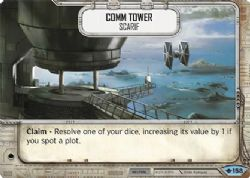 STAR WARS DESTINY -  COMM TOWER - SCARIF -  WAY OF THE FORCE