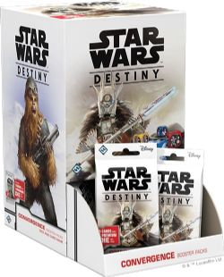 STAR WARS DESTINY -  CONVERGENCE BOOSTER PACK (ANGLAIS)
