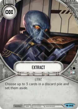 STAR WARS DESTINY -  EXTRACT -  WAY OF THE FORCE