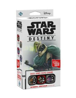 STAR WARS DESTINY -  GENERAL GRIEVOUS - STARTER SET (ANGLAIS)
