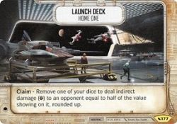 STAR WARS DESTINY -  LAUNCH DECK - HOME ONE -  LEGACIES
