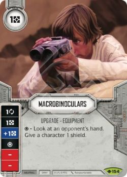 STAR WARS DESTINY -  MACROBINOCULARS -  WAY OF THE FORCE