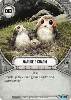 STAR WARS DESTINY -  NATURE'S CHARM -  WAY OF THE FORCE