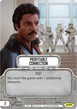 STAR WARS DESTINY -  PROFITABLE CONNECTION -  LEGACIES