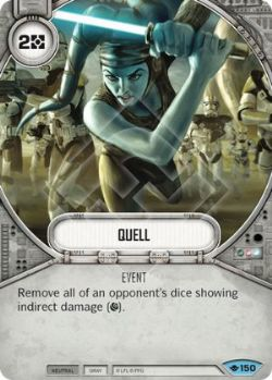 STAR WARS DESTINY -  QUELL -  WAY OF THE FORCE