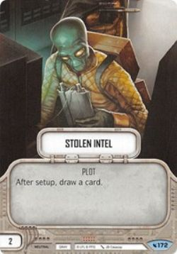 STAR WARS DESTINY -  STOLEN INTEL -  LEGACIES