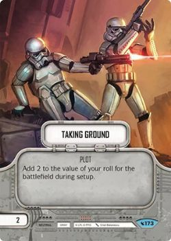 STAR WARS DESTINY -  TAKING GROUND -  LEGACIES