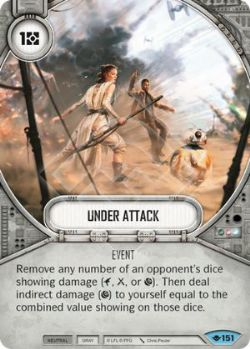 STAR WARS DESTINY -  UNDER ATTACK -  WAY OF THE FORCE