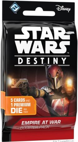 STAR WARS -  EMPIRE AT WAR BOOSTER PACK (ANGLAIS) -  STAR WARS DESTINY