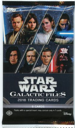 STAR WARS -  GALACTIC FILES (P8/B24)