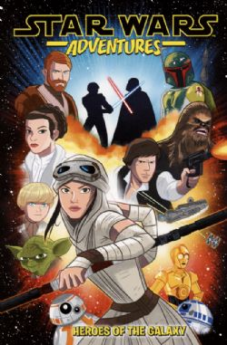 STAR WARS -  HEROES OF THE GALAXY TP -  ADVENTURES 01