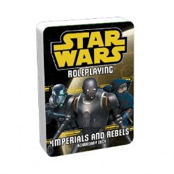 STAR WARS -  IMPERIALS AND REBELS III - ADVERSARY DECK (ANGLAIS) -  STAR WARS JDR