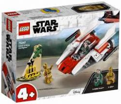 STAR WARS -  LE CHASSEUR A-WING REBELLE (62 PIÈCES) 75247