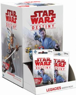 STAR WARS -  LEGACIES BOOSTER PACK (ANGLAIS) -  STAR WARS DESTINY