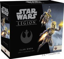 STAR WARS : LEGION -  CLAN WREN (ANGLAIS)