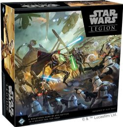 STAR WARS : LEGION -  JEU DE BASE (ANGLAIS) -  CLONE WARS
