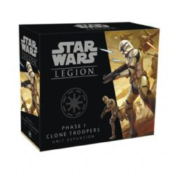STAR WARS : LEGION -  PHASE 1 CLONE TROOPERS (ANGLAIS) -  CLONE WARS