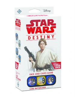 STAR WARS -  LUKE SKYWALKER STARTER SET (ENGLISH) -  STAR WARS DESTINY