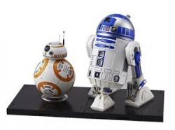 STAR WARS -  MODEL REDUIT DE BB-8 & R2-D2 (15CM)